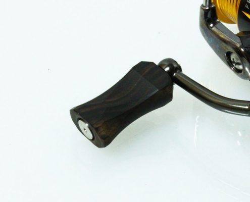 ハンドルノブ Thinflat350 smart 縞黒檀